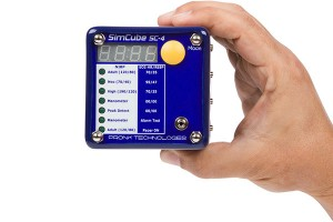 SC-4 SimCube in Hand | Pronk Technologies