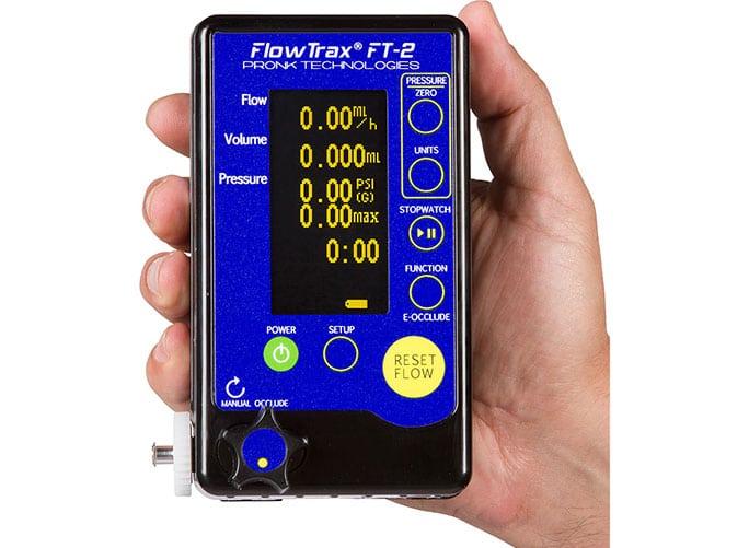 Next Generation Flowtrax Ft 2 Infusion Pump Analyzer Pronk